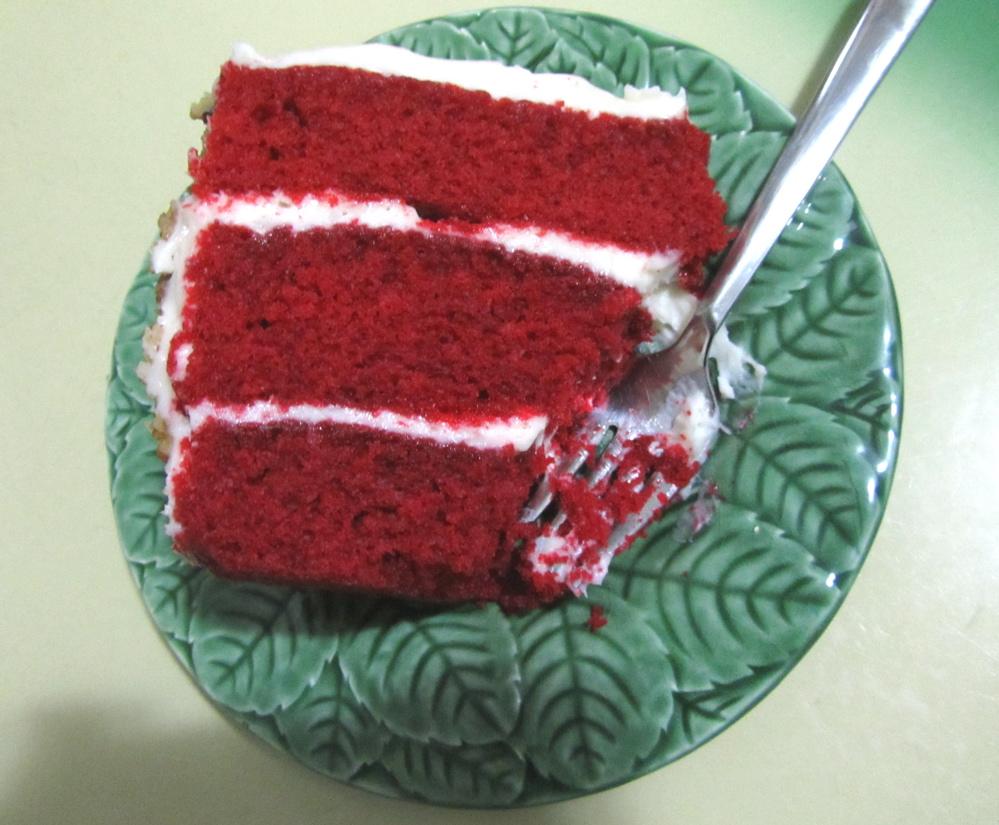 Cake Man Raven Red Velvet
