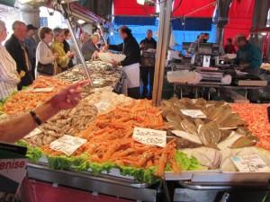 Rialto fish stall