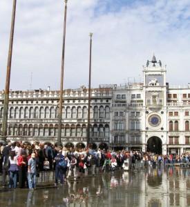 Acqua Alta in St. Marks Square
