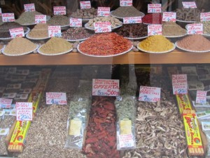 Oldest spice store in Venice, from 15th century