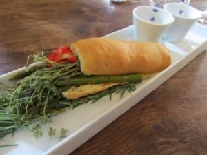 Asparagus & Herb Sandwich