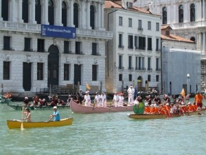 The Vogalonga on the Grand Canal