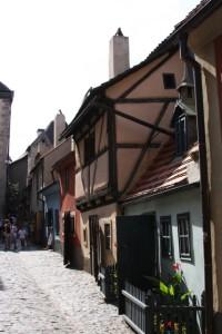 Medieval street, Prague