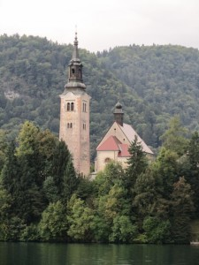 Church of the Assumption, Lake Bled