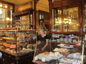 Pastry at Café Demel