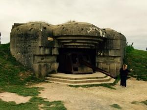German Artillery Bunker